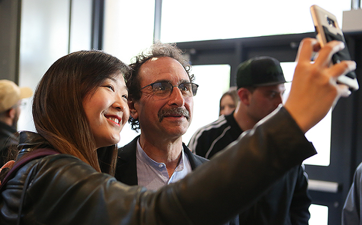 Crystal Choi and Marty Linder's Selfie